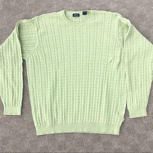 Light Green Izod Sweater